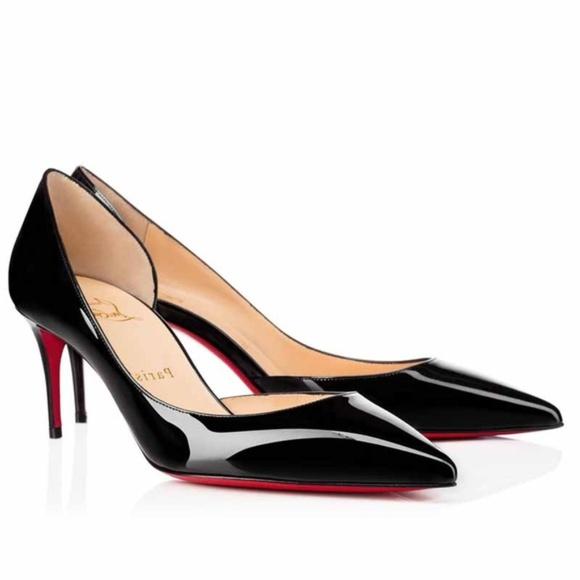 5f28b9a400 Christian Louboutin Shoes | Iriza 70mm Black Patent | Poshmark